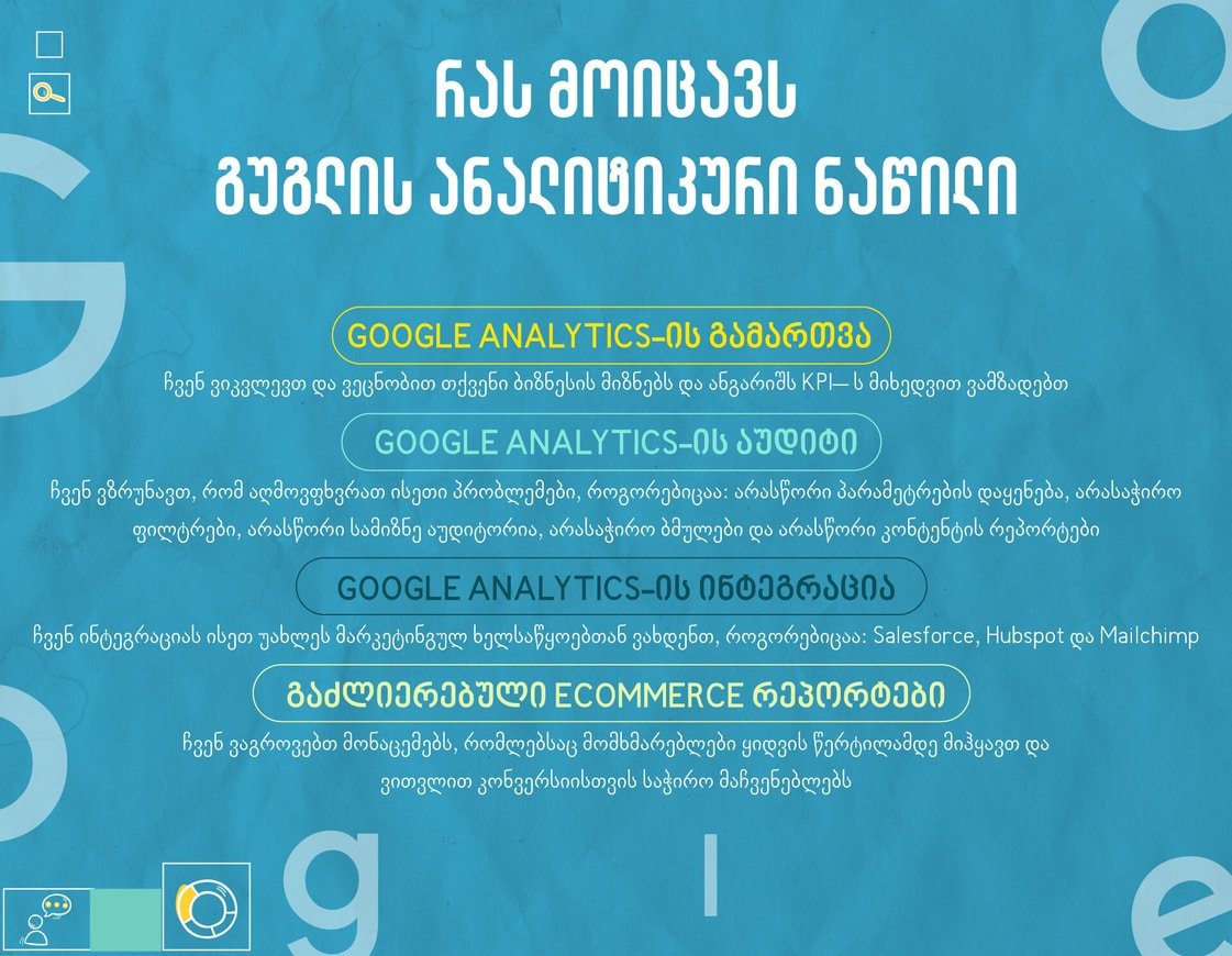გუგლის ანალიტიკა და აუდიტი